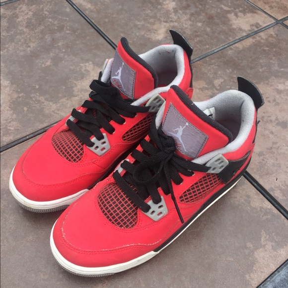 jordan shoes for women red